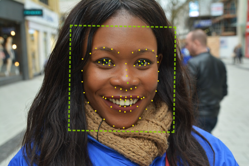 algorithm facial points
