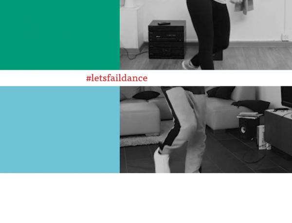 #letsfaildance