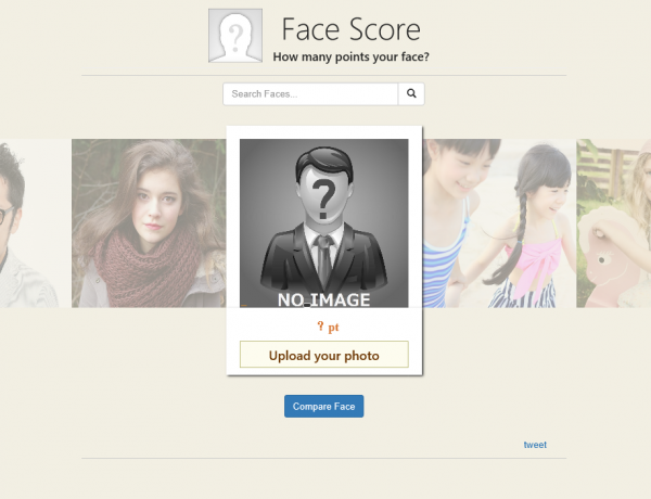 """Face Score"" – great website for entertainment"